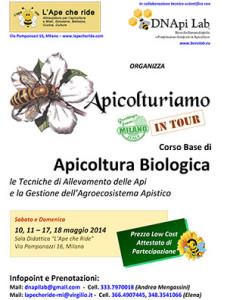 Corso Apicoltura Biologica Milano 2014